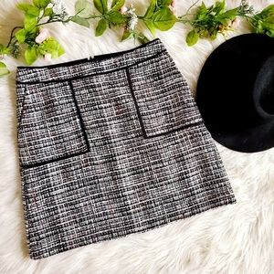 LOFT Skirts - LOFT Tweed Pocket Mini Skirt